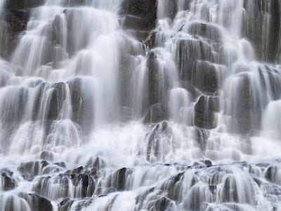 Iceland Dynjandi Waterfall