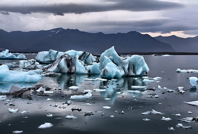 Aurora Borealis in Iceland Photos