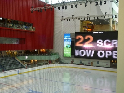 Ice Rink Inside Dubai Mall