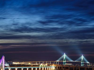 Icheon Bridge - Night View