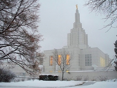 Idaho Falls Frozen Temple ID