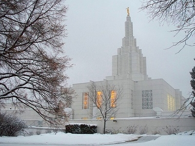 Idaho Falls Temple - Church Of Jesus Christ