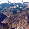 Idaho Springs As Seen From The Surrounding Mountains.