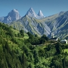Idyllic View From French Alps