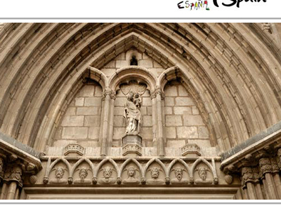 Santa Maria Del Pi Tympanum
