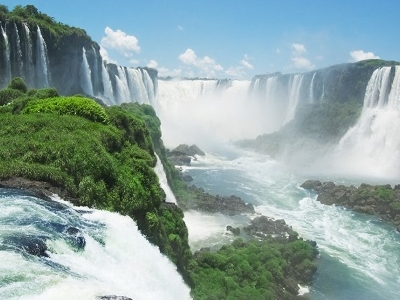 Iguazu Waterfall - Brazil-Argentina Border