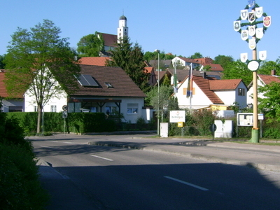 Illerberg With St Martins Church