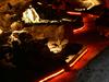 Illuminated Lava Tube Cave