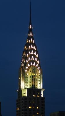 Illumination Of The Building At Night