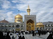 Imam Reza Shrine In Mashhad