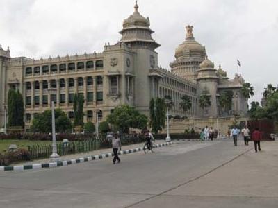 Approach Road To Vidhana Soudha