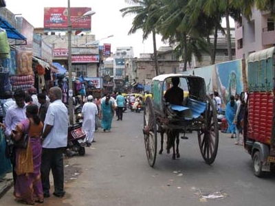 Commercial Street Stalls - Bangalore