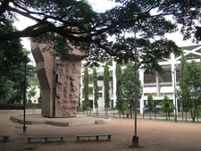 Sree Kanteerava Stadium Sculpture