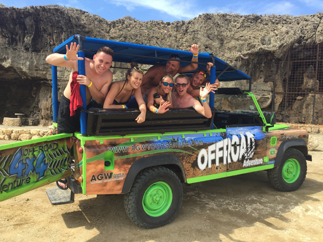 Aruba Offroad Jeep Adventure Photos