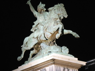 Statue Of Vercing