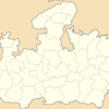 India Madhya Pradesh Location Map