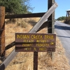 Indian Creek Trail Sign