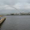 Infinity Bridge From River
