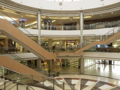 Interior View Of Inorbit Mall