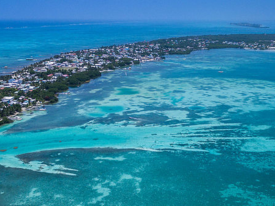 Insel Caye Raulker, Belize