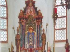 Inside 14 Nothelfer Kapelle Nassereith Austria