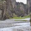 Inside Fjaðrárgljúfur Canyon - Iceland