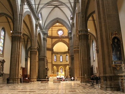 Inside Florence Cathedral - Duomo