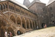 Inside Hunedoara Castle