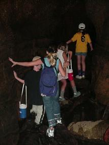 Inside Ice Box Cave