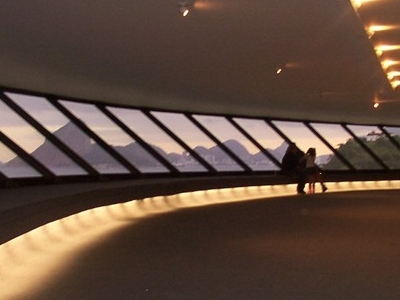 Interior Of The Niteroi Contemporary Art Museum