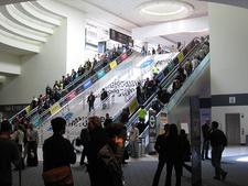 Inside Moscone Center