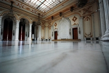 Inside Palace Of The Parliament - Bucharest