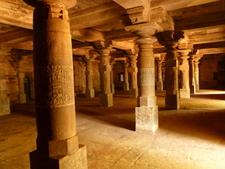 Inside Safa Masjid Belagavi Fort