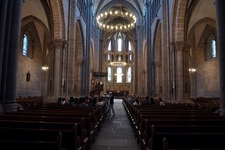 Inside Saint Pierre Cathedral At Geneva