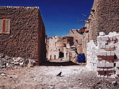 Inside Shali Fortress In Siwa Oasis
