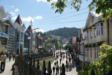 Inside Shimla Town - Himachal Pradesh