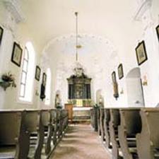 Inside Spitalskirche Kitzbühel Austria