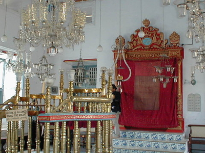 Inside The Pardesi Synagogue