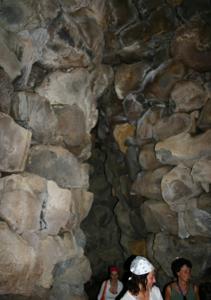 Inside The Su Nurraxi Nouraghe