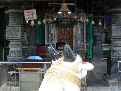 Inside View Of Temples