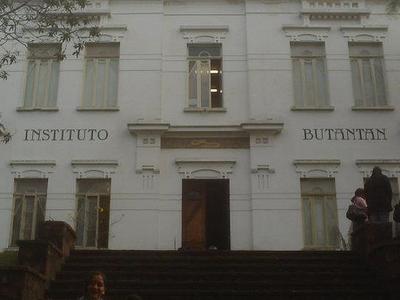 Front View Of Instituto Butantan