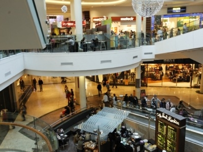 The Interior Of Dundrum Town Centre