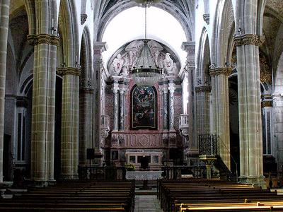 Interior Of A Cathedral In Alentejo
