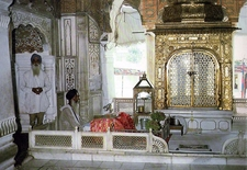 Interior Of Akal Takht
