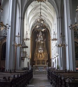 Interior Of Augustinian Church