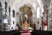 Interior Of Basilika Maria Loretto, Burgenland