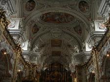 Interior Of Cistercian Monastery Of Schlierbach, Austria