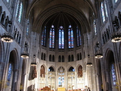 Interior Of Riverside Church