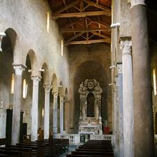 Interior Of San Sisto Church