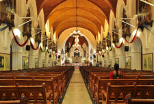 Interior Of San Thome Basilica